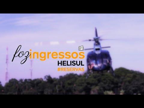 Helisul - Vôo de helicóptero sob as Cataratas do Iguaçu