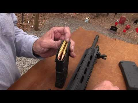 ruger - Bud's Gun Shop: http://www.budsgunshop.com/?utm_source=hickok45&utm_medium=youtube&utm_campaign=hickok45_yt Shooting and showing the Ruger SR762, an AR10 var...