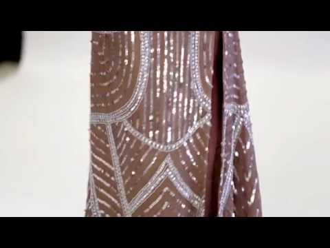 Shail K Sequins Fitted Dress 3525