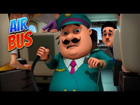 Motu Patlu | हिंदी कार्टून | Motu Patlu in Hindi | 2019 | Air Bus