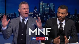 Video Ashley Cole shocks Jamie Carragher by not picking THIS player in his combined XI! | MNF MP3, 3GP, MP4, WEBM, AVI, FLV Agustus 2019