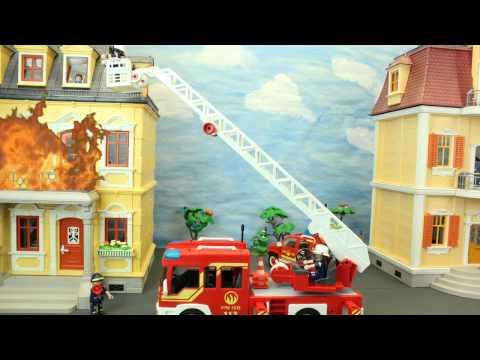 Der Grossbrand Playmobil Feuerwehr Film marque maison Stop Motion