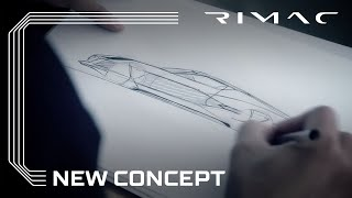 Rimac One Concept Teaser Video 01