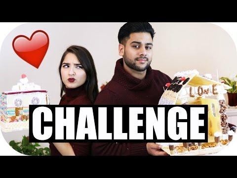LEBKUCHENHAUS CHALLENGE EXTREM Girlfriend Vs Boyfriend Sanny Kaur