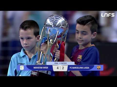 Movistar Inter - FC Barcelona Lassa Final Partido 1