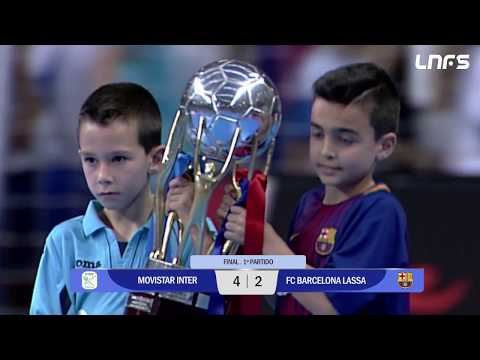 Movistar Inter - FC Barcelona Lassa Final Partido 1