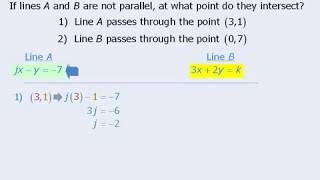 GMAT Prep - Math Practice Question - Tricky Intersection