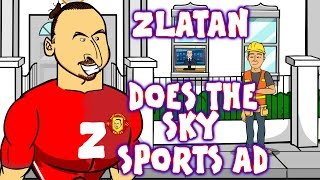 Zlatan does the Sky Sports David Beckham Ad! (Parody Advert Ibrahimovic)