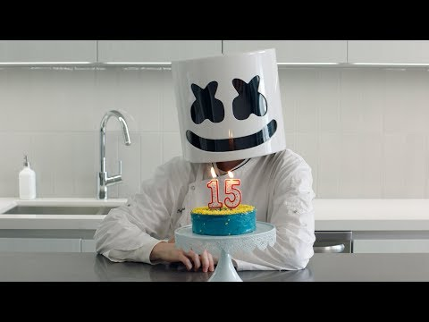 BAKING A CAKE for SW4's 15th Anniversary!! | Cooking with Marshmello