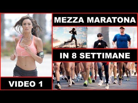 preparare la mezza maratona in 8 settimane