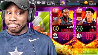 Video 99 OVR JAMES HARDEN IN SUMMER LEAGUE PACK OPENING! NBA Live Mobile Gameplay Ep. 153 MP3, 3GP, MP4, WEBM, AVI, FLV Agustus 2017