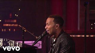 John Legend - Let's Get Lifted (Live on Letterman)