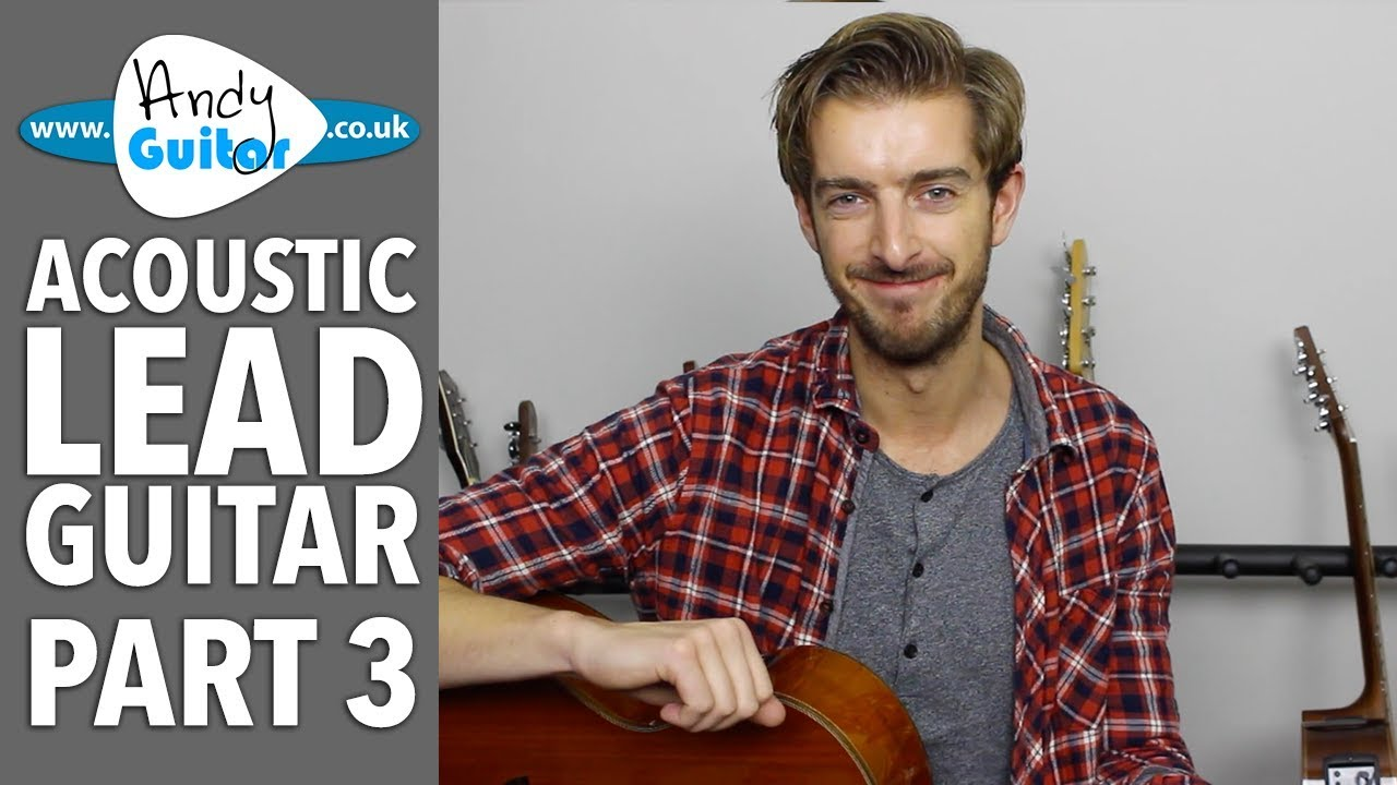 Lead Guitar Note Patterns – Acoustic Lead Guitar Lesson #3
