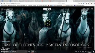 HBO GO sin Dish y facil de cancelar.