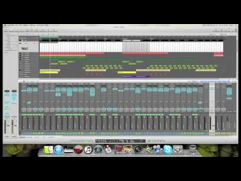 How to get your kick to cut through / stand out in your mix using parallel compression