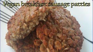 Simple, economical, tasty vegan breakfast sausage patty recipe. Enjoy :)