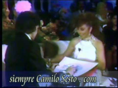Camilo con Verónica Castro 3/16