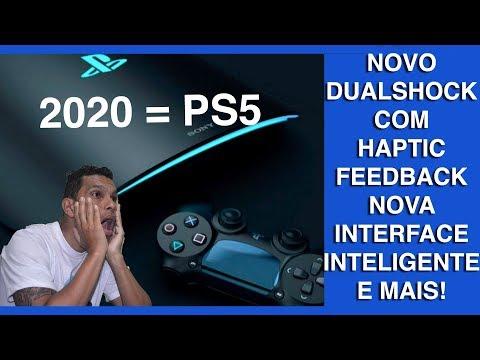 PS5 Vem cheio de Inovações Haptic Feedback