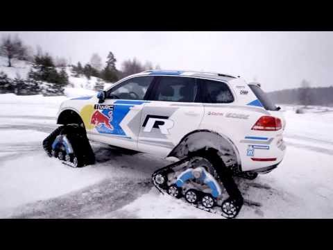VW Snowareg comes prepared to Rally Sweden