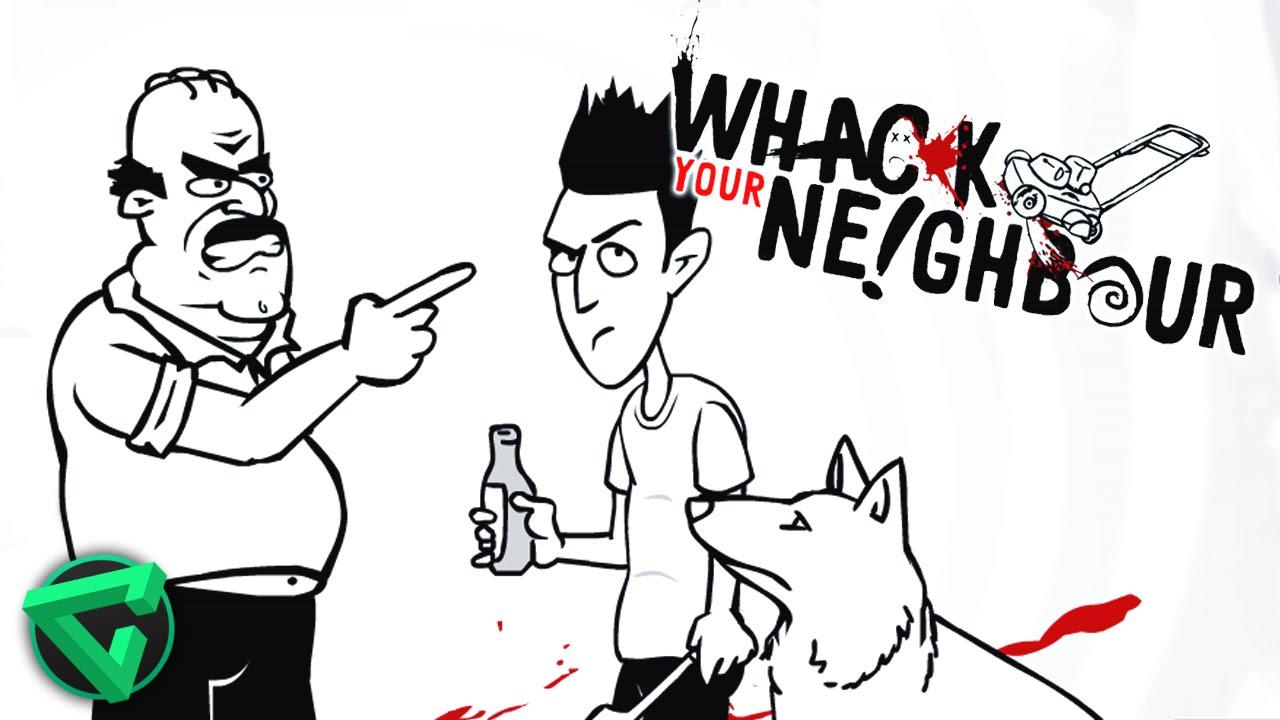 "CÓMO VENGARSE DE TU VECINO – ""Whack Your Neighbour"" – iTownGamePlay"