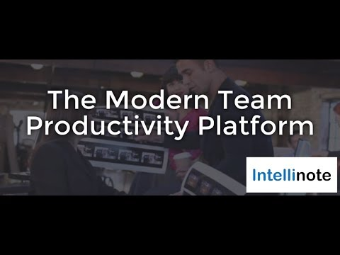 Video of Intellinote: Team Productivity
