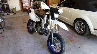 8. 2013 Suzuki DRZ400SM Supermoto walkaround and initial impressions