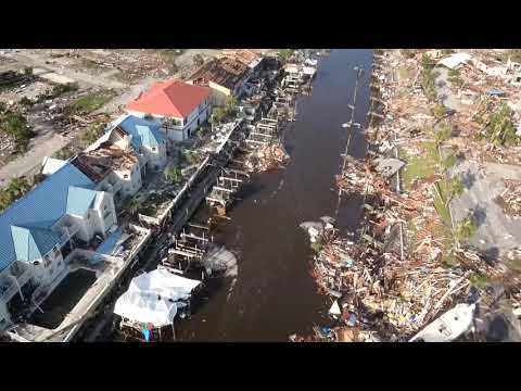 Hurricane Michael damage at Mexico Beach