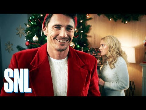 Cut for Time: Hallmark Channel Christmas Promo (James Franco) - SNL