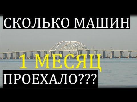 Крымский(21.06.2018)мостПо Крымскому мосту проехали более 500 тысяч автомобилей с момента открытия - DomaVideo.Ru