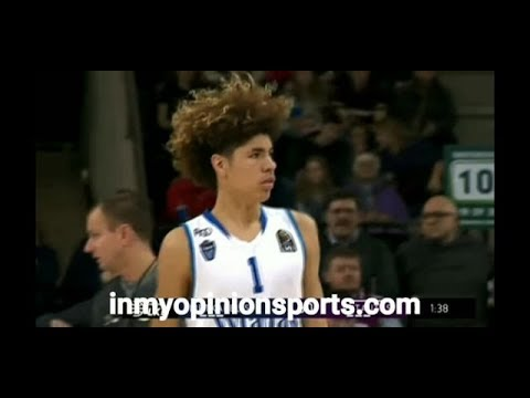 Lamelo And Liangelo Ball Struggle In 1st Official Pro Game In Lithuania (BBB Highlights)