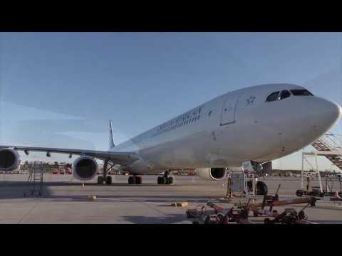 Airbus A-340-600: Wo schläft eigentlich die Crew?