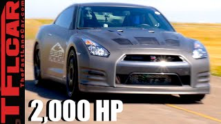 2000 HP & 250 MPH: How Fast Can a Tuned Nissan GT-R Go Over 1 Mile? (Part 1 of 2) by The Fast Lane Car