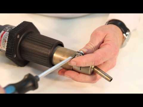 как сделать фен дл¤ пайки пластмассы