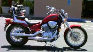 6. Contra Costa Powersports-Used 2006 Honda Shadow VLX Deluxe 600cc V-twin lightweight cruiser