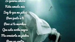 Alejandro Fernandez  Niña Amada Mia  Lyrics