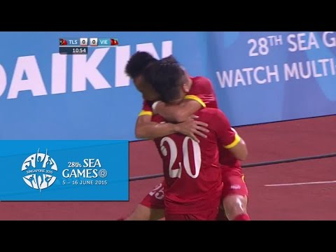 [Highlights] SEA Games 28, U23 Việt Nam vs U23 Timor Leste 4-0