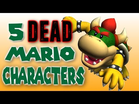 5 Dead Characters from the Mario Universe