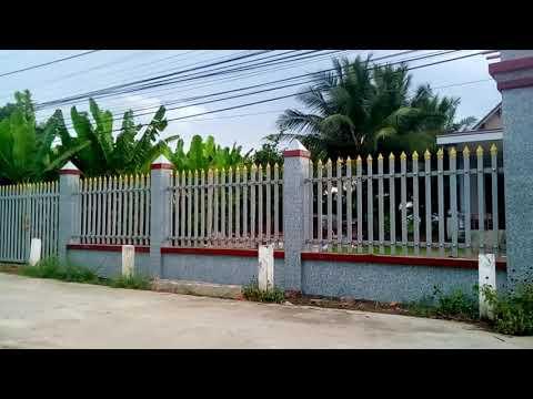 Mẫu Cổng Hàng Rào Đẹp Đơn Giản Sang Trọng Mới Làm Xong.Lh 0975227903 .