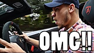 DRIVING LORD ALEEM'S LAMBORGHINI AVENTADOR SV!! by Supercars of London