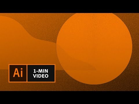How To Create The Mezzotint Grain Effect In Illustrator | Adobe Creative Cloud