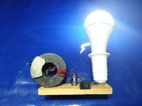 How To Make Generator With Dual magnat 100% Free Energy (видео)