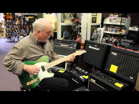Northwest Guitars:  Tom Anderson Drop T Classic in Key Lime Surf (видео)