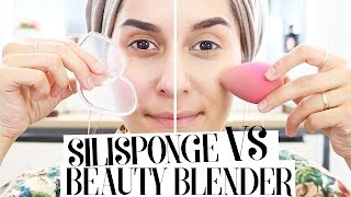 Beauty Blender vs SiliSponge Test!