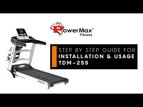 TDA-255® Multifunction Motorized Treadmill with Auto Incline