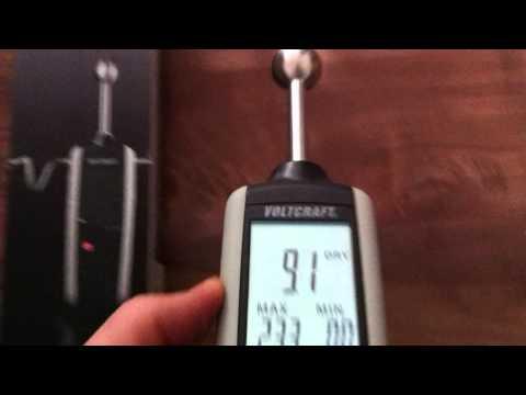 VOLTCRAFT MF-100 Material-Feuchtigkeitsmessgerät