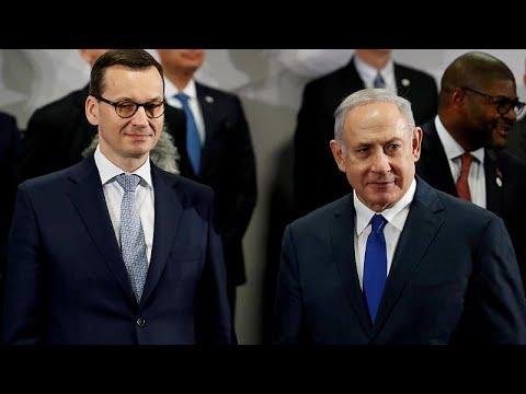 La Pologne n'est pas en Israël, Netanyahu défend son ministre