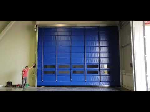 FOLDER Model Katlanır Hızlı PVC Kapı