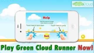 Green Cloud Runner YouTube video