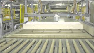 The manufacturing process of a Dunlopillo Mattress