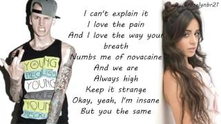 Machine Gun Kelly & Camila Cabello - Bad Things (Lyrics) Video